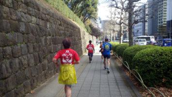 2020/02/19の颯走塾水曜マラソン練習会in赤坂御所4