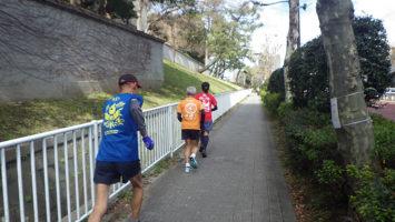 2020/02/19の颯走塾水曜マラソン練習会in赤坂御所5