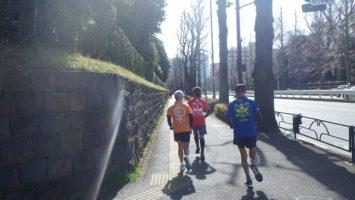 2020/02/19の颯走塾水曜マラソン練習会in赤坂御所6