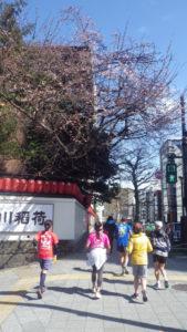 2020/02/19の颯走塾水曜マラソン練習会in赤坂御所8