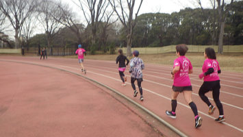 2020/01/22の颯走塾水曜マラソン練習会in織田フィールド3