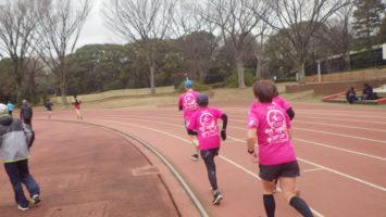 2020/01/22の颯走塾水曜マラソン練習会in織田フィールド4