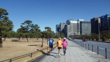 2020/01/29の颯走塾水曜マラソン練習会in皇居3
