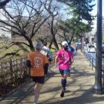2020/01/29の颯走塾水曜マラソン練習会in皇居4
