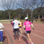 2020/02/12の颯走塾水曜マラソン練習会in織田フィールド2