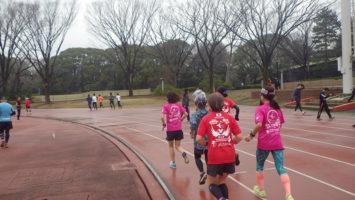 2020/02/26の颯走塾水曜マラソン練習会in織田フィールド2