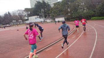 2020/02/26の颯走塾水曜マラソン練習会in織田フィールド3