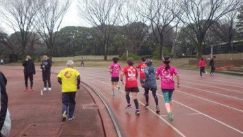 2020/02/26の颯走塾水曜マラソン練習会in織田フィールド4