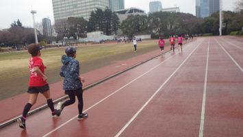 2020/02/26の颯走塾水曜マラソン練習会in織田フィールド5
