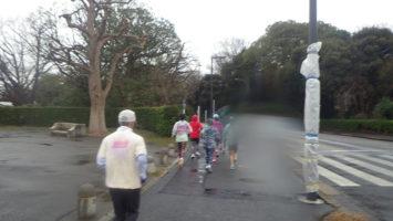 2020/03/04の颯走塾水曜マラソン練習会in神宮外苑3