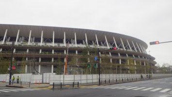 2020/03/04の国立競技場
