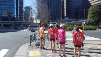 2020/03/11の颯走塾水曜マラソン練習会in皇居1