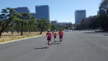 2020/03/11の颯走塾水曜マラソン練習会in皇居7