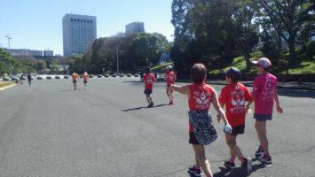 2020/03/11の颯走塾水曜マラソン練習会in皇居8