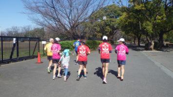 2020/03/18の颯走塾水曜マラソン練習会in織田フィールド1
