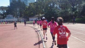 2020/03/18の颯走塾水曜マラソン練習会in織田フィールド2