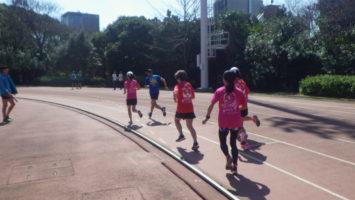 2020/03/18の颯走塾水曜マラソン練習会in織田フィールド4