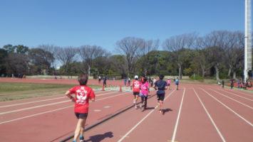 2020/03/18の颯走塾水曜マラソン練習会in織田フィールド5