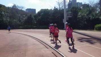2020/03/18の颯走塾水曜マラソン練習会in織田フィールド6